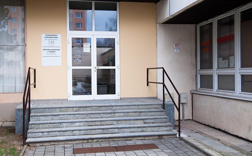 Vchod do rehabilitačního centra